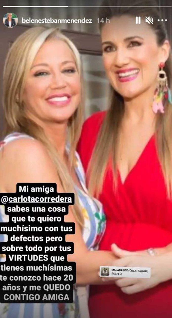 Belén Esteban Carlota Corredera