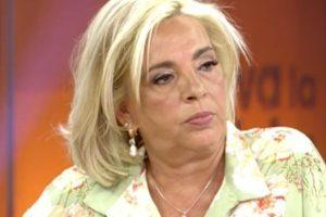Carmen Borrego atiza a Bigote Arrocet: «Su ruptura con mi madre fue cruel»