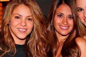 El gesto que confirma el mal rollito entre Shakira y Antonella Rocuzzo tras la marcha de Messi a París