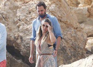 Elena Tablada y Javier Ungría, de vacaciones en Ibiza