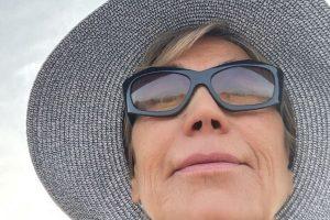 La rutina de Julia Otero en su primer verano de lucha contra el cáncer