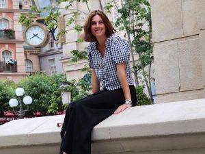 Lourdes Montes triunfa con un look 10 para las noches de verano