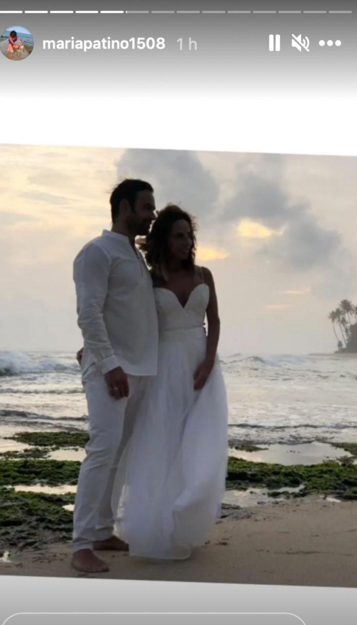 María Patiño boda