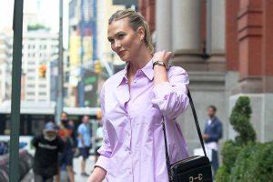 Karlie Kloss, paseando con pijama y complementos de 2.000 euros