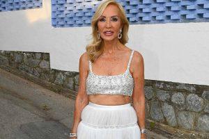 El look bailarina de cumpleaños de Carmen Lomana más criticado