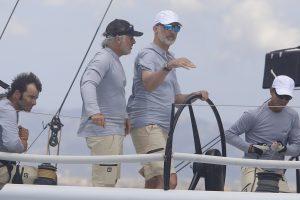 El competitivo gesto del Rey Felipe en su primera regata en Mallorca
