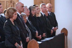 La reina Sofía acude al funeral por la princesa Marie de Liechtenstein