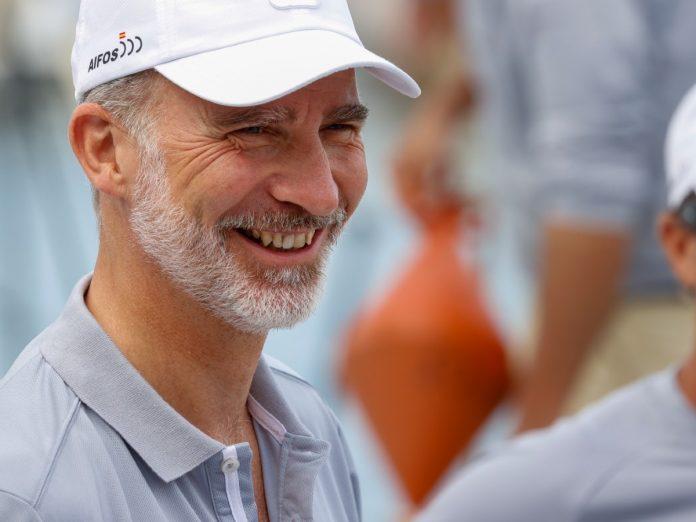 Rey Felipe sonrisa