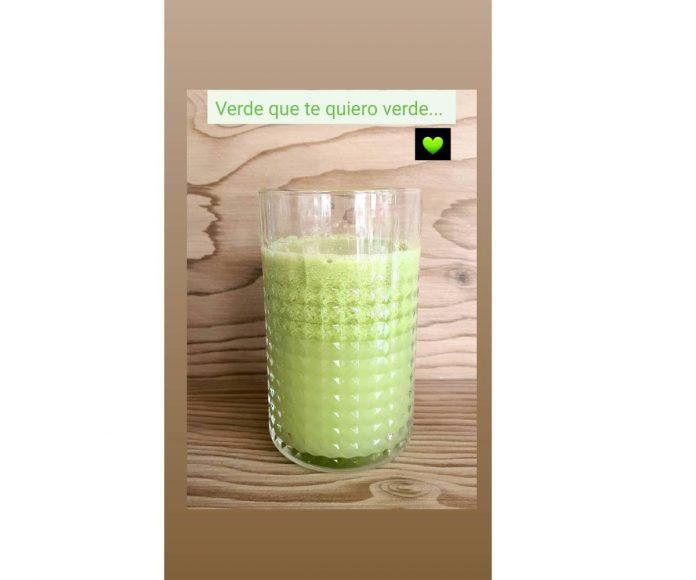 zumo verde paula echevarría