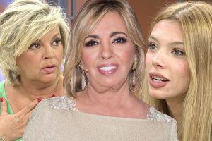 Terelu Campos y Alejandra Rubio, cansadas de la actitud de Carmen Borrego: «Estoy pasando vergüenza»