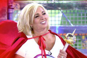 Carmen Borrego vuelve a 'Sálvame': «A Alejandra Rubio hay algo de mí que no le ha gustado»