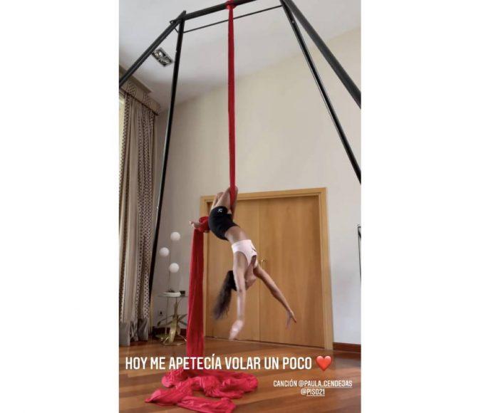 Cristina Pedroche entrenamiento