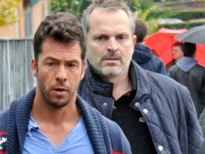 Miguel Bosé dice que su matrimonio con Nacho Palau «fue de conveniencia»: la respuesta de su ex