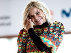 Eugenia Martínez de Irujo triunfa en San Sebastián con la falda de crochet más original