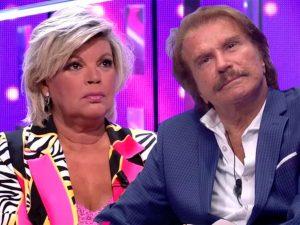 Terelu Campos y Edmundo Arrocet se enfrentan en directo: el tenso cara a cara