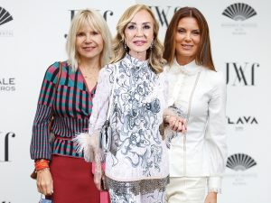 Mar Flores, Eugenia Martínez de Irujo y Carmen Lomana derrochan estilo en la MBFWM
