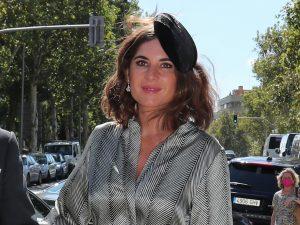 Lourdes Montes, la invitada mejor vestida en la boda de Rocío Gil Oset y Phil Pérez-Cícera