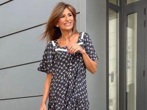 Gema López se convierte en motera con un look de lo más rompedor