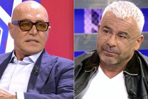 Jorge Javier Vázquez y Kiko Matamoros, cara a cara: «Estás como un niño chico con una pataleta»
