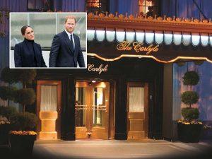 El hotel favorito de Lady Di en Nueva York en el que se alojan Meghan Markle y Harry a 1.200 euros la noche