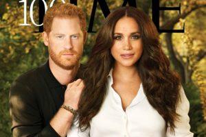 Harry y Meghan protagonizan un posado exclusivo como los más influyentes del mundo