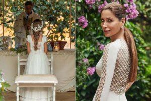 Paloma Cuevas comparte las fotos de la comunión de su hija Bianca
