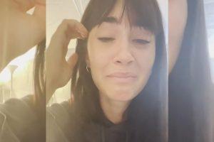 Aitana, entre lágrimas, anuncia la cancelación de sus conciertos por motivos de salud