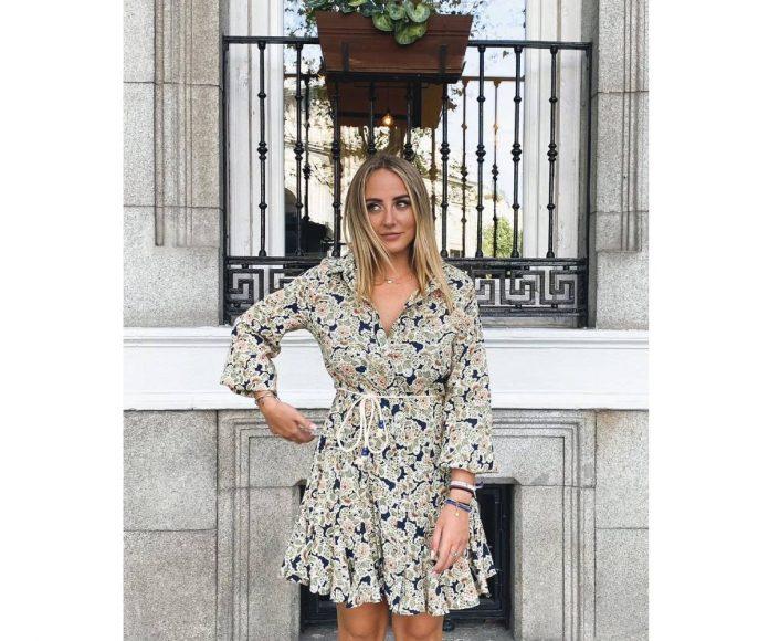 vestido Rocío Flores