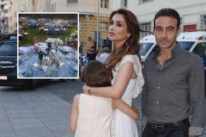 Paloma Cuevas y Enrique Ponce, arropados por buenos amigos, se reencuentran en la comunión de su hija