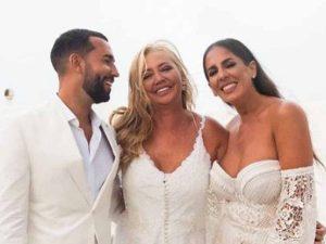 Belén Esteban publica fotos inéditas de la boda de Anabel Pantoja y Omar Sánchez