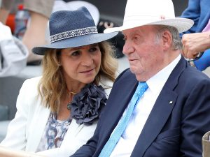 La infanta Elena habla por fin del regreso del Rey Juan Carlos a España