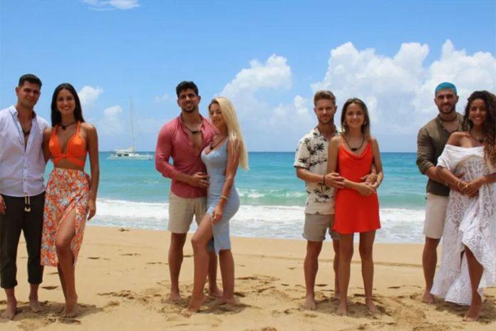 cuatro parejas de La isla de las tentaciones 4