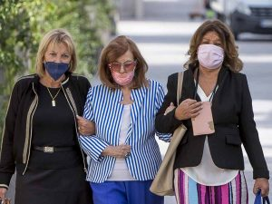 María Teresa Campos, pillada visitando pisos junto a dos amigas en Madrid