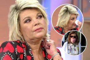 Las lágrimas de Terelu Campos al mostrar su preocupación por María Teresa Campos