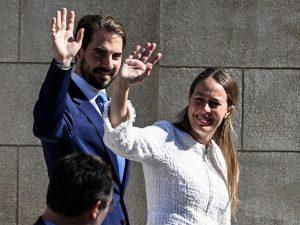 El Príncipe Philippos y Nina Flohr ultiman los detalles de su gran boda griega