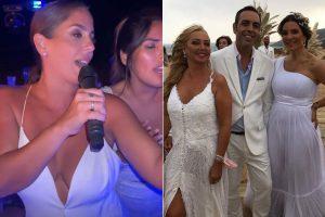 Lo que no se vio de la boda de Anabel Pantoja: Belén Esteban pletórica, el tributo a Isabel Pantoja…