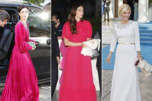 De Sassa de Osma a Tatiana Santo Domingo: todos los looks de la boda de Philippos de Grecia