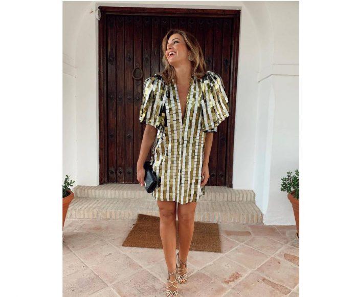 Virginia Troconis look brillante